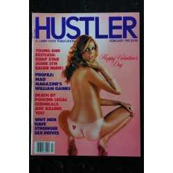 HUSTLER Vol. 07 N° 08 1981/02 Happy Valentine's Day