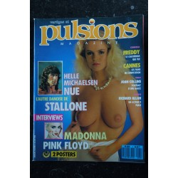 PULSIONS 05 FREDDY PINK FLOYD STALLONE MADONNA HELLE MICHAELSEN NUE TOUTES NUES