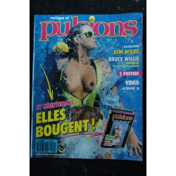 PULSIONS 10 KIM WILDE SPECIAL PHOTO JEAN ROUGERON PHOTGRAPHY EROTIC GLAMOUR CHIC