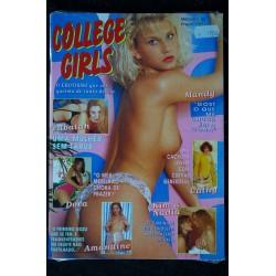 COLLEGE GIRLS 48 NOSSA COVER-GIRL LINDA ALL NUDES CHARME O EROTISMO