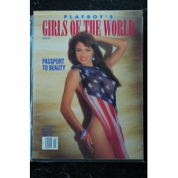 PLAYBOY'S GIRLS OF THE WORLD 1992 OC ISABELLE FORTEA ANDREA JOHNSON MELODY STARK