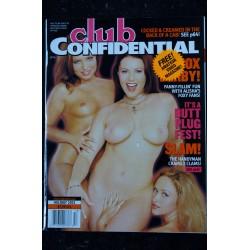 CLUB CONFIDENTIEL 6 1995 VIXXEN INTEGRAL NUDE SUZE RANDALL EROTIC COVER GIRLS