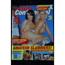 CLUB CONFIDENTIAL HOLIDAY 2001 CHENNIN BLANC INTEGRAL NUDES EROTIC + POSTER SUPLEMENT VIDEO