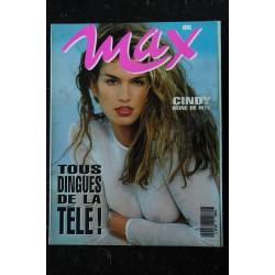 MAX 046 COVER KIM BASINGER + POSTER BRENDA SCHADE LES 20 + BELLES STARS DU MONDE 1993