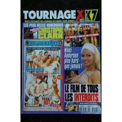 TOURNAGE X HS N° 002 Les plus belles hongroises Christophe Clark Nikki Anderson
