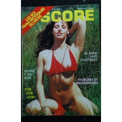 SCORE 008 CLAUDE PINOTEAU THE THEATRE EROTIC JANE JENNY TOUTES NUES CINEMA CHARME