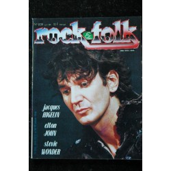 ROCK & FOLK 210 Bruce Springsteen Robert Ellis Jacques Dutronc Jimmy Cliff Lou Reed