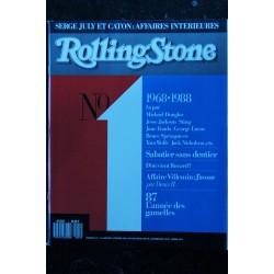 ROLLING STONE 13 FREDDY KRUEGER MADONNA IV LE RETOUR DE LA GARCE 7 PAGES 1989