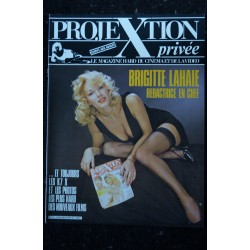 PROJEXTION PRIVEE 13 SPECIAL TRACI LORDS RARE 52 PAGES INTEGRAL NUDE EROTIC 1987