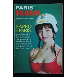 PARIS FLASH COLLECTOR N° 1 NOELLE NOBLECOURT MYLENE DEMONGEOT SOPHIE HARDY 1965