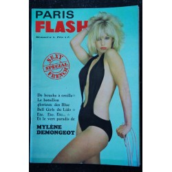 PARIS FLASH N° 3 ELKE SOMMER TINA MARQUAND Perette PRADIER DANY CARREL