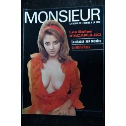 MONSIEUR 1969 2 La revue de l'homme à la page L'amour en asie Beatles Belles Italiennes