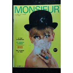 MONSIEUR 1969 3 La revue de l'homme à la page Les belles d'Acapulco Che Guevara La mafia Rose