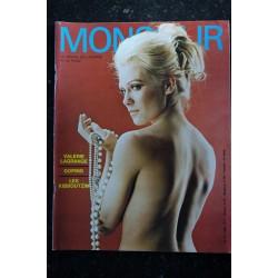 MONSIEUR 1969 4 La revue de l'homme à la page Duc d'Edimbourg Erotique Amérique Marisa Solinas Bernardin