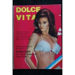 DOLCE VITA 13 INTERVIEW STEVE McQUEEN CHARLES AZNAVOUR DIANA ZANASI CHARME 1968