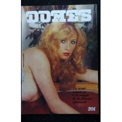 DOMES International 12 N° 12 RENEE EMILIE CLOTILDE OMBLINE JOSIANE MARIE-LYSE FLORENCE 1980