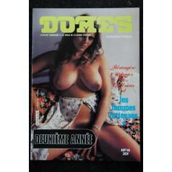DOMES International 13 N° 13 BARBARA ADELE NATACHA DIANE CLARISSE DÔMES SENOLOGIE 1980