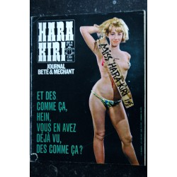 HARA KIRI 053 N° 53 REISER FRED GEBE HOPF TOPOR juillet 1965