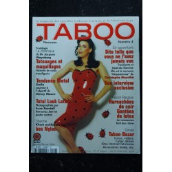 Taboo Nouveau N° 3 EVA FURY Christophe MOURTHE KARIN Dr Jacques WAYNBERG