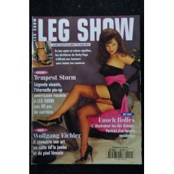 Leg Show N° 1 Gainées et provocantes nues et envoûtantes ... les plus belles jambes dumonde sont dans LEG SHOW