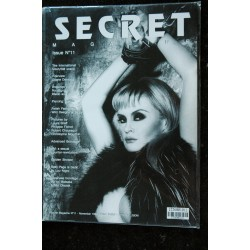SECRET magazine N° 11 Christophe MOURTHE John WILLIE FETICHISME S.M. NUDE EROTIC