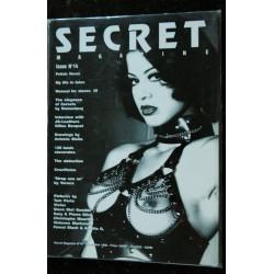 SECRET magazine Issue N° 13 Christophe MOURTHE Peter DaSILVA Efraïn GONZALES Jacques LEURQUIN FETICHISME S.M. NUDE EROTIC