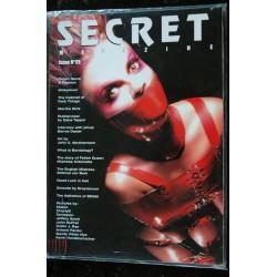 SECRET magazine Issue N° 23 Christophe MOURTHE Ken MARCUS Matt LOMBARD Trevor WATSON FETICHISME S.M. NUDE EROTIC