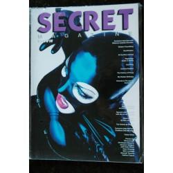 SECRET magazine Issue N° 28 MATEO CharlyB Tentesion Antone PAVLOV John DuPRET FETICHISME S.M. NUDE EROTIC