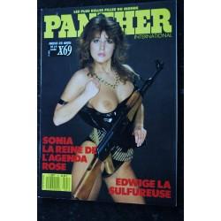 PANTHER International 40 N° 40 LA FILLE DU SEXE LA PUTE AUX BAS NOIRS LES LESBIENNES DU DIABLE