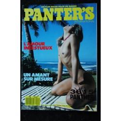 PANTER'S International 01 N° 1 LA DIVA DU SEXE LA FEMME AUX BAS NOIRS