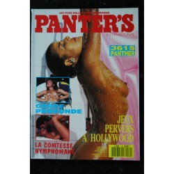 PANTER'S International 09 N° 9 LES DECHAINEES DU SEXE LA TIGRESSE DU PLAISIR LA FUREUR DES CARESSES