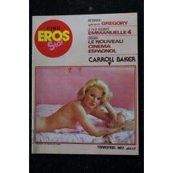 CINE EROS STAR 17 N° 17 Gérard GREGORY EMMANUELLE 4 Le nouvea cinéma espagnol CARROLL BAKER ENTIEREMENT NUES