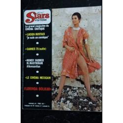 Vedettes Incognito N° 3 1970 Justine Mireille Darc Miss Brodie Carrol Baker Gina Lollobrigida Marie Liljedahl