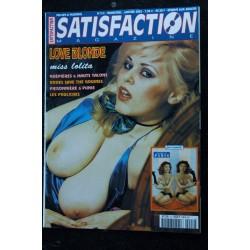 SATISFACTION Hors-Série N° 1 BETTY PAGE La fessée SADE lectures choisies NUDE EROTIC