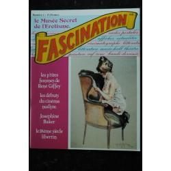 FASCINATION 5 RENE GIFFEY CINEMA NUDISTE JOSEPHINE BAKER 18e LIBERTIN CHAMPSAUR