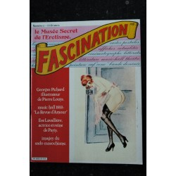 FASCINATION 8 GEORGES PICHARD MUSIC-HALL 1933 EVE LAVALLIERE HENRI DE REGNIER