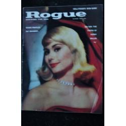 ROGUE Vol 6 N° 9 September 1961 PARIS AT NIGHT LOVER'S LANE Oscar BROWN Sylvan Sylvia DAKSVILLE