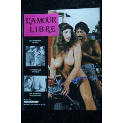 L'AMOUR LIBRE 24 Petite femme aux mains très occupées Mémoires de Casanova Symboles érotiques du billard 1983