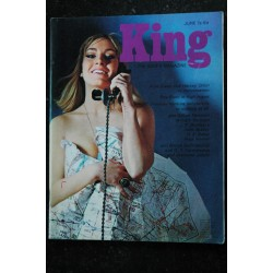 KING 01 January 1966 Jeremy Thorpe Gwyn Thomas Jackie Stewart Anita Harris Pin-Up SEXY VINTAGE