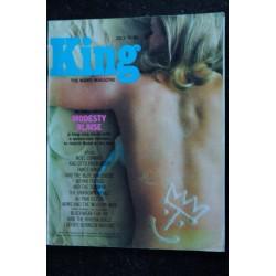 KING 06 June 1966 Alun OWEN Harvey Orkin Roy Budd Vivienne Ventura Fred Winter Pin-Up SEXY VINTAGE