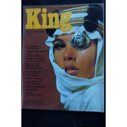 KING 07 July 1966 MODESTY BLAISE Noel COWARD Otto PREMINGER James JONES Bryan FORBES Pin-Up SEXY VINTAGE