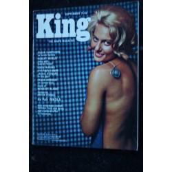 KING 08 August 1966 Jackie STEWART KEN RUSSELL CAROLINA TIOTTO HERBERT GOLD SAM WAAGENAAR Pin-Up SEXY VINTAGE