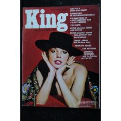 KING 09 September 1966 Jackie STEWART Susan Hampshire FRANK NORMAN Pin-Up SEXY VINTAGE